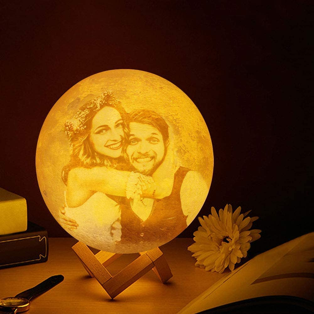 3D Moon Lamp service Personalized Custom USB LE Charging 16 Light Night Colorado Springs Mall