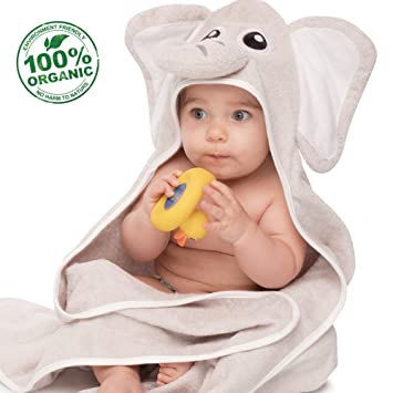 ACEHOOD Baby Towel Organic Cotton Hooded Bath Towel 35u0027u0027x35u0027u0027 Washcloth for  sc 1 st  Amazon.com & Amazon.com : ACEHOOD Baby Towel Organic Cotton Hooded Bath Towel 35 ...