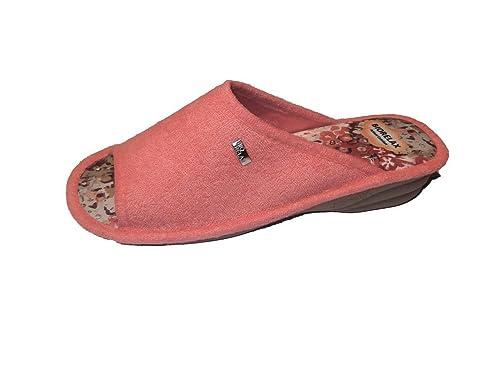 Zapatillas de Estar por casa/Mujer/Biorelax/Cuña 3cm: Amazon.es: Zapatos y complementos