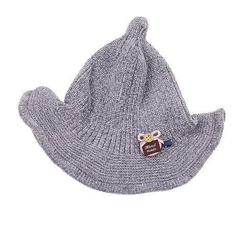 Ruikey 1 PCS Cappello da Pescatore per Tenere Caldo Il Cappello a Punta del  Mago per 97d79e8c7632