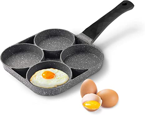 Durable Non-stick Pan Practical Frying Pan Useful Omelette Steak Pan Kitchen Gad