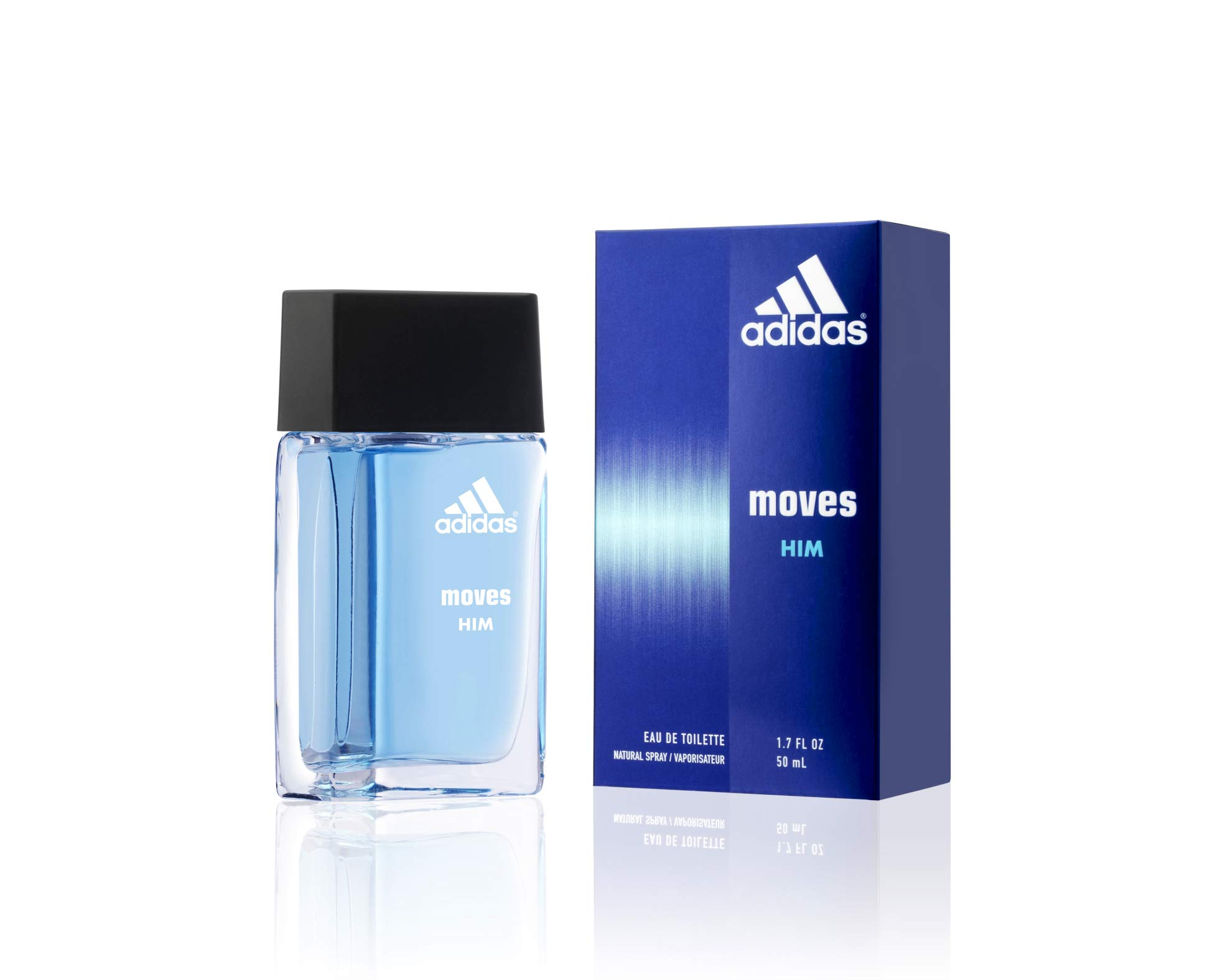 Adidas Moves for Men Eau de Toilette Spray 1.7 oz by adidas
