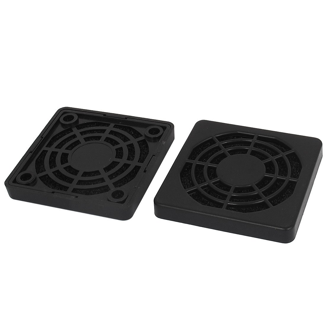 2x Dustproof 40mm Mesh Case Cooler Fan Dust Filter Cover Grill for PC BE