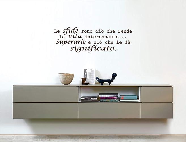 Adesivi Murali Frase Sulla Vita Frasi Adesive Per Ufficio Adesivi