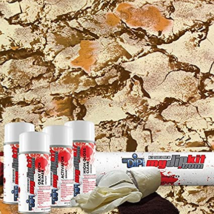 Amazon natural gear camo hydrographics film kit mydipkit natural gear camo hydrographics film kit mydipkit my dip kit rc solutioingenieria Image collections