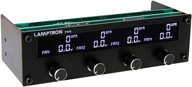 Lamptron FC6 - Panel de control digital para ventiladores de ...