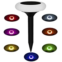 Deals on DiDi DENG Solar Ground Lights Color Change Waterproof Ring Led