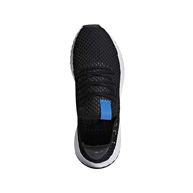 buy popular 60e7c c6983 Amazon.com  adidas Mens DEERUPT BlackBlackBluebird - B42063