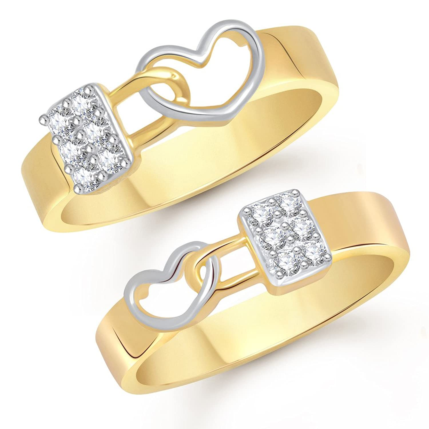rhodium wedding annabelle band duo set copy ring solitaire rings