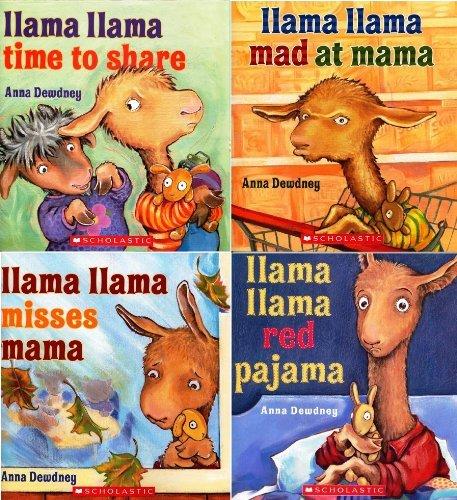 Llama Llama Collection (Paperback Book Pack) : Llama Llama Mad at Mama, Llama Llama Misses Mama, Llama Llama Red Pajama, and Llama Llama Time to Share (Llama LLama Paperback Books)