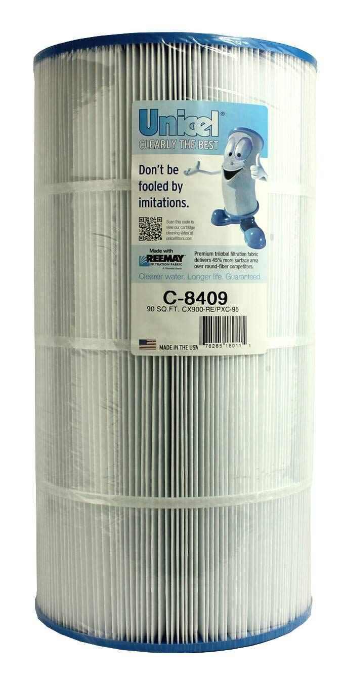 Unicel C-8409 Replacement Filter Cartridge for 90 Square Foot Hayward CX900RE, Sta-rite PXC-95, Waterway Pro Clean 100, Waterway Clearwater II 100 by Unicel