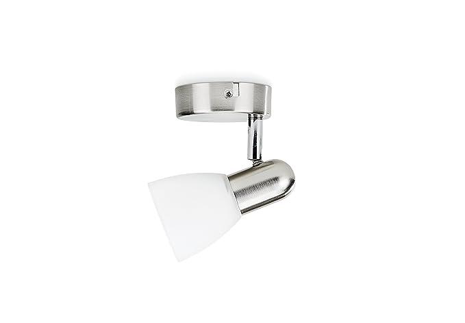 Philips Essentials Burlap - Punto de luz, E14, LED, niquel ...