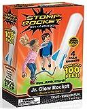 Stomp Rocket Jr. Glow, 4 Rockets [Packaging May Vary]