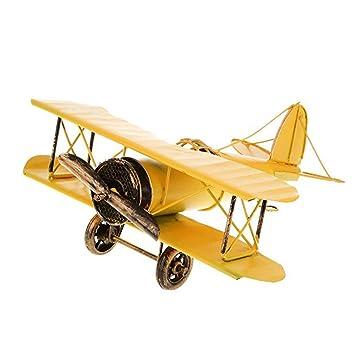 Amazon.com: Theshy - Colgante de metal, diseño de avión ...