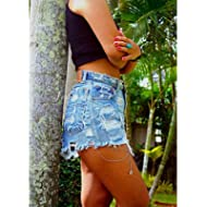High waisted Levis shorts Grunge Hipster clothes distressed ripped frayed denim cutoffs shorts by...