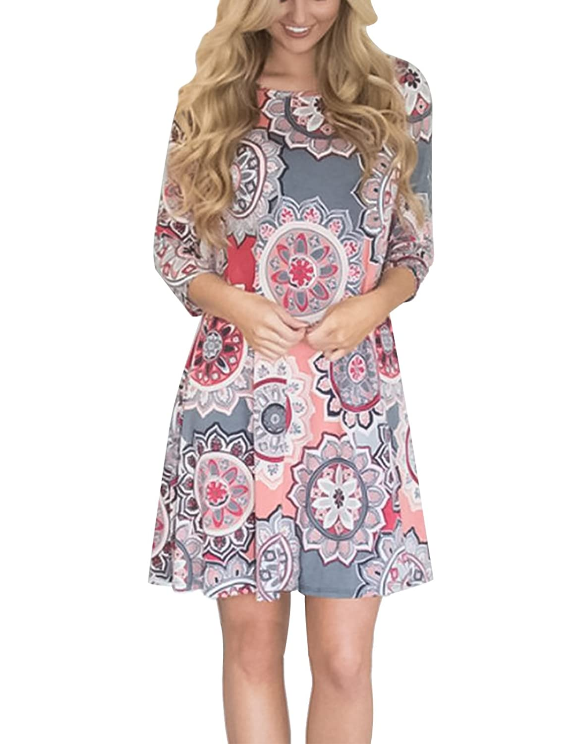 32ba6ff34a Top 10 wholesale Ladies Plus Size Shirt Dress - Chinabrands.com