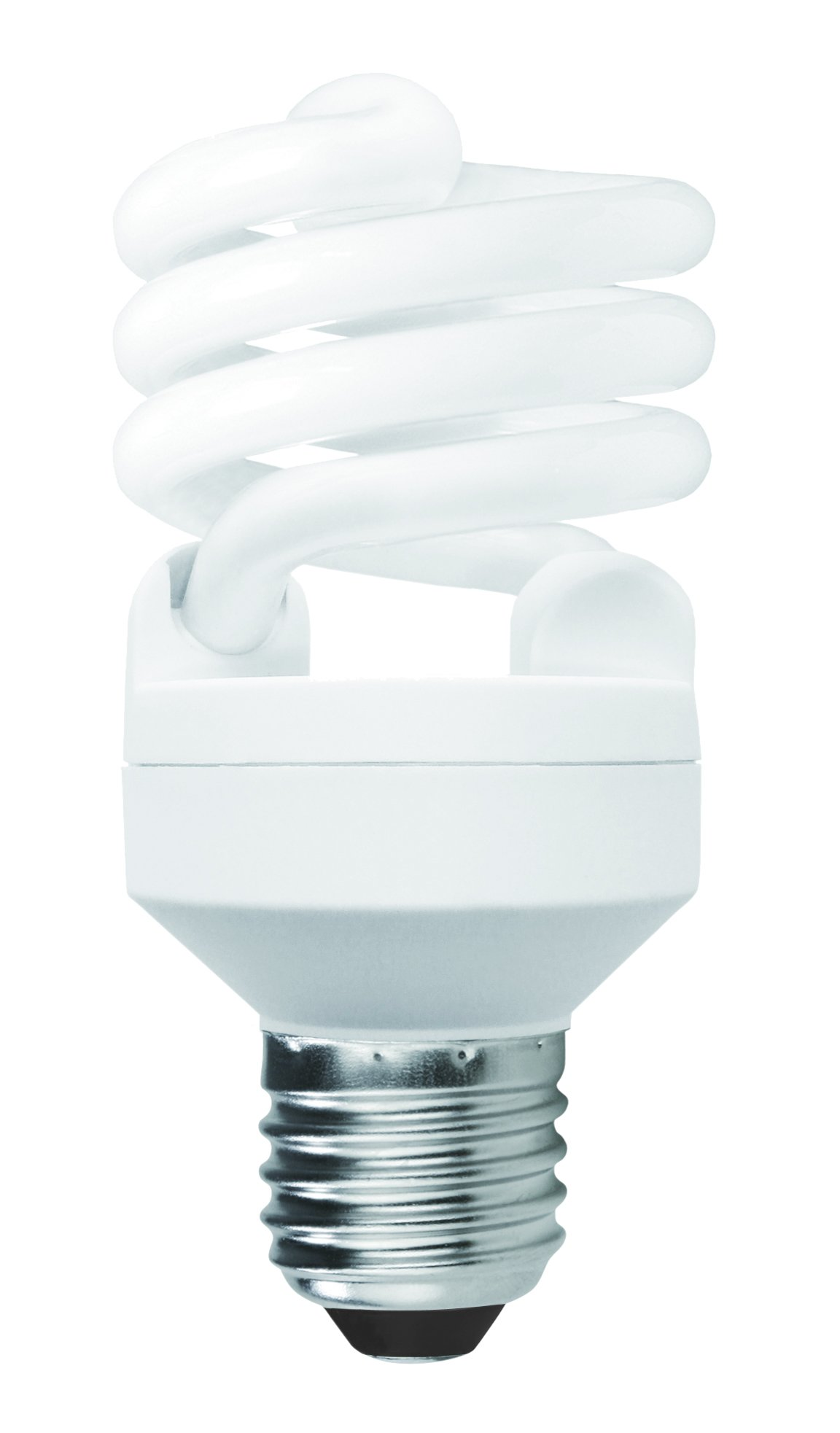 Luxrite LR20193 (48-Pack) 20-Watt CFL T2 Mini Spiral Light Bulb, Equivalent To 75W Incandescent, Daylight 6500K, 1300 Lumens, E26 Standard Base