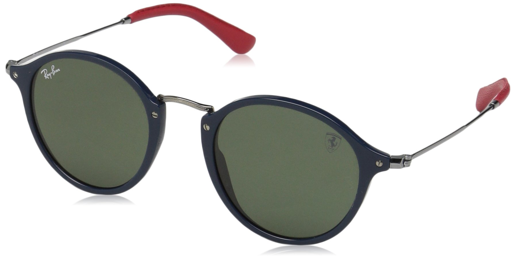 24c43ec79b Ray-Ban SCUDERIA FERRARI RB2447NM F60631 Blue-Gunmetal   Green G-15 ...