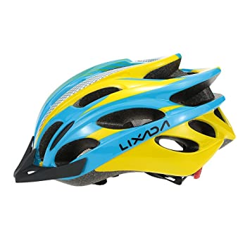 Lixada Cascos Superligero Ajustable para MTB Bicicleta de Carretera Protector para Ciclismo Montaña Carreras Rodillo Patinaje