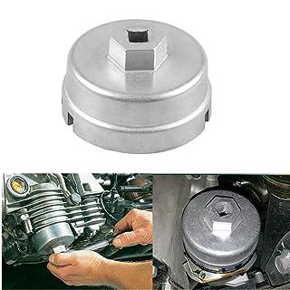 DEDC Olio Filtro Regolabile Chiave 1//2 Universale 80-105 mm Kit di Rimozione Strumento in Acciaio Nero
