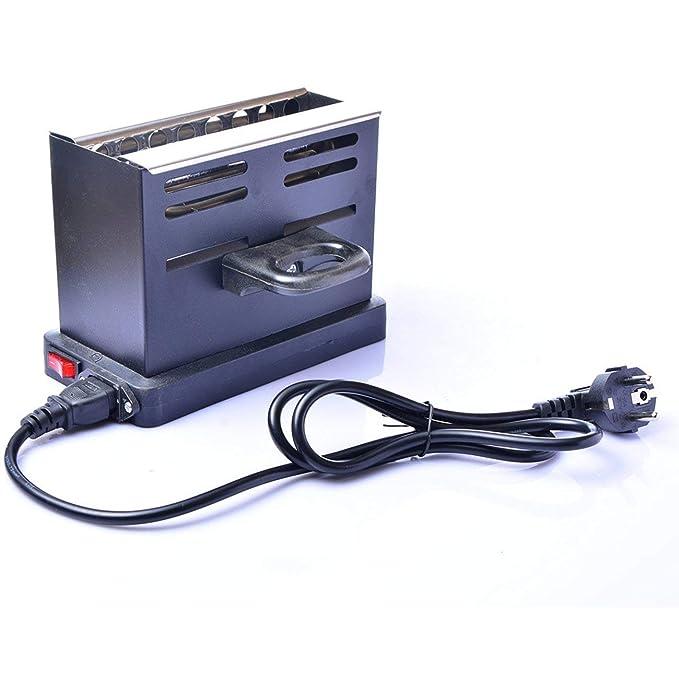 JIUY 800W cachimba eléctrica de carbón Quemador de Encendedor de ...