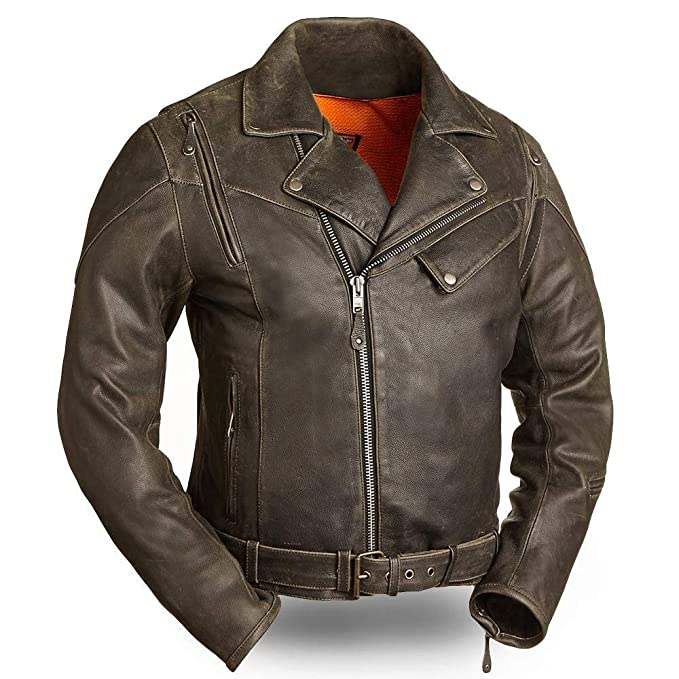 Amazon.com: First Manufacturing 60S New Yorker - Chaqueta ...