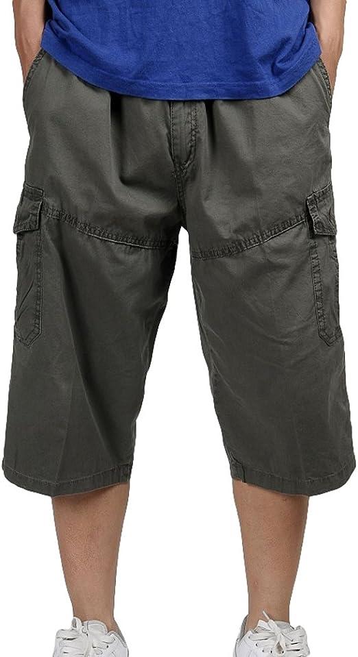 Lvguang Homme Cargo Shorts Militaire avec
