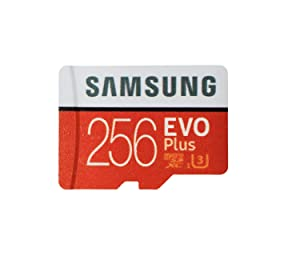 Samsung 256GB Micro SDXC EVO Plus (MB-MC256GA) Bundle Class 10 UHS-1 works with Samsung Galaxy Note 9, S9, S9+, S8, S7 Edge Cell Phones with Everything But Stromboli (TM) Card Reader