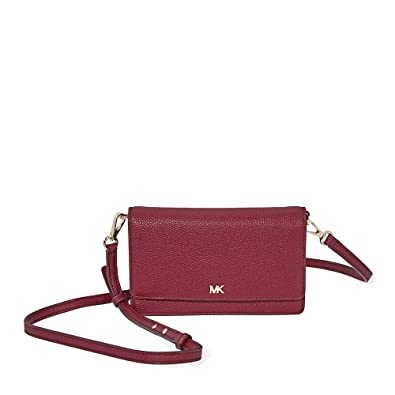 54a555d181ff Image Unavailable. Image not available for. Color  MICHAEL Michael Kors  Pebbled Leather Convertible Crossbody ...