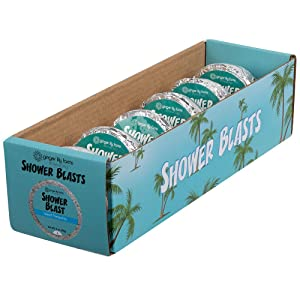 Ginger Lily Farms Botanicals Shower Blast Island Tranquility, 2 Ounces Each, 6-Count