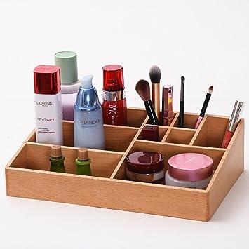 Acabado, Cajas de Madera para cosméticos Caja de Almacenamiento de ...