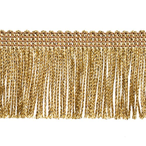 (Decorative Trimmings 100% Rayon Chainette Fringe, 2