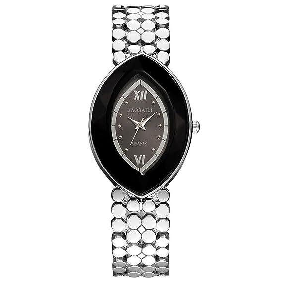 ba13d2391a87e BSL961 BAOSAILI Brand EYE Shape Gold Ladies Wrist Watches Women Watches Montre  Femme Watches: Amazon.ca: Watches