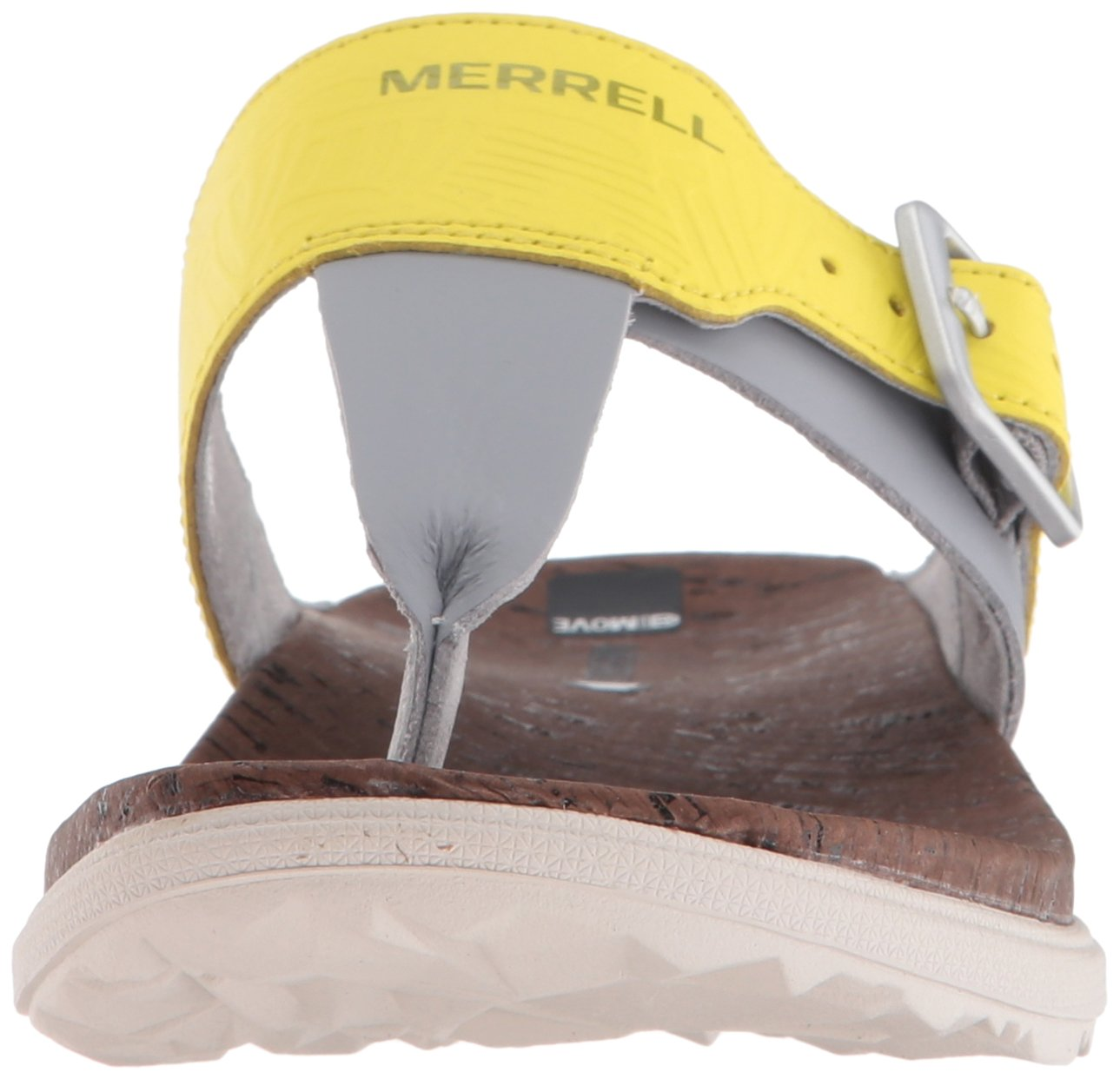 Merrell Women's Around Town Post Print Athletic Sandal B01HIZUXO2 8 B(M) US|Sleet