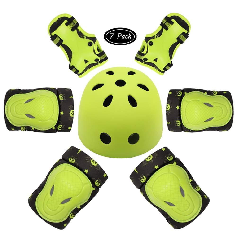 Kid's Cycling Skateboard Protective Bike Green