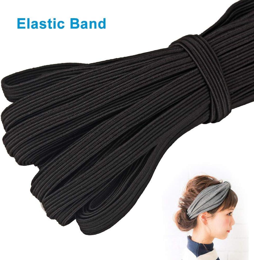 bleu marine Pas de z/éro vap26 Bande /élastique 33 m/ètres de corde /élastique//cordon /élastique plat 6 mm de largeur pour la maison accessoires de couture Taille unique