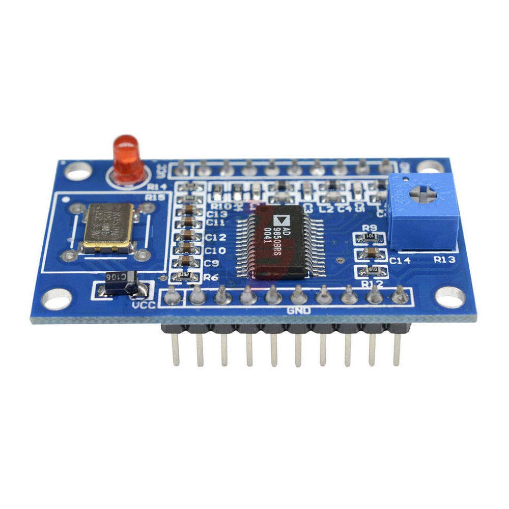 AD9850 DDS Signal Generator Module 0-40MHz 2 Sine Wave and 2 Square Low-Pass Filter Crystal Oscillator Test Equipment Board