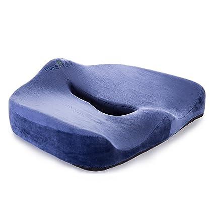 i-pure artículos TM coxis Ortopédica cómoda Cojín de silla y ...