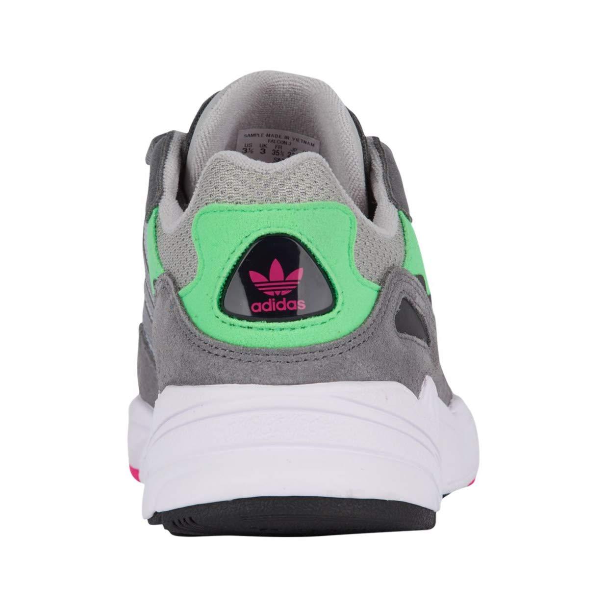 super popular 89b90 dbf01 Amazon.com   adidas Originals Kids Yung-96 Sneakers, Grey Grey Shock Pink  3.5M   Sneakers