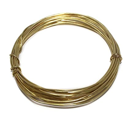 Beadsnfashion jewellery making brass craft wire diy golden 10 mtrs beadsnfashion jewellery making brass craft wire diy golden 10 mtrs 18 gauge thick greentooth Choice Image
