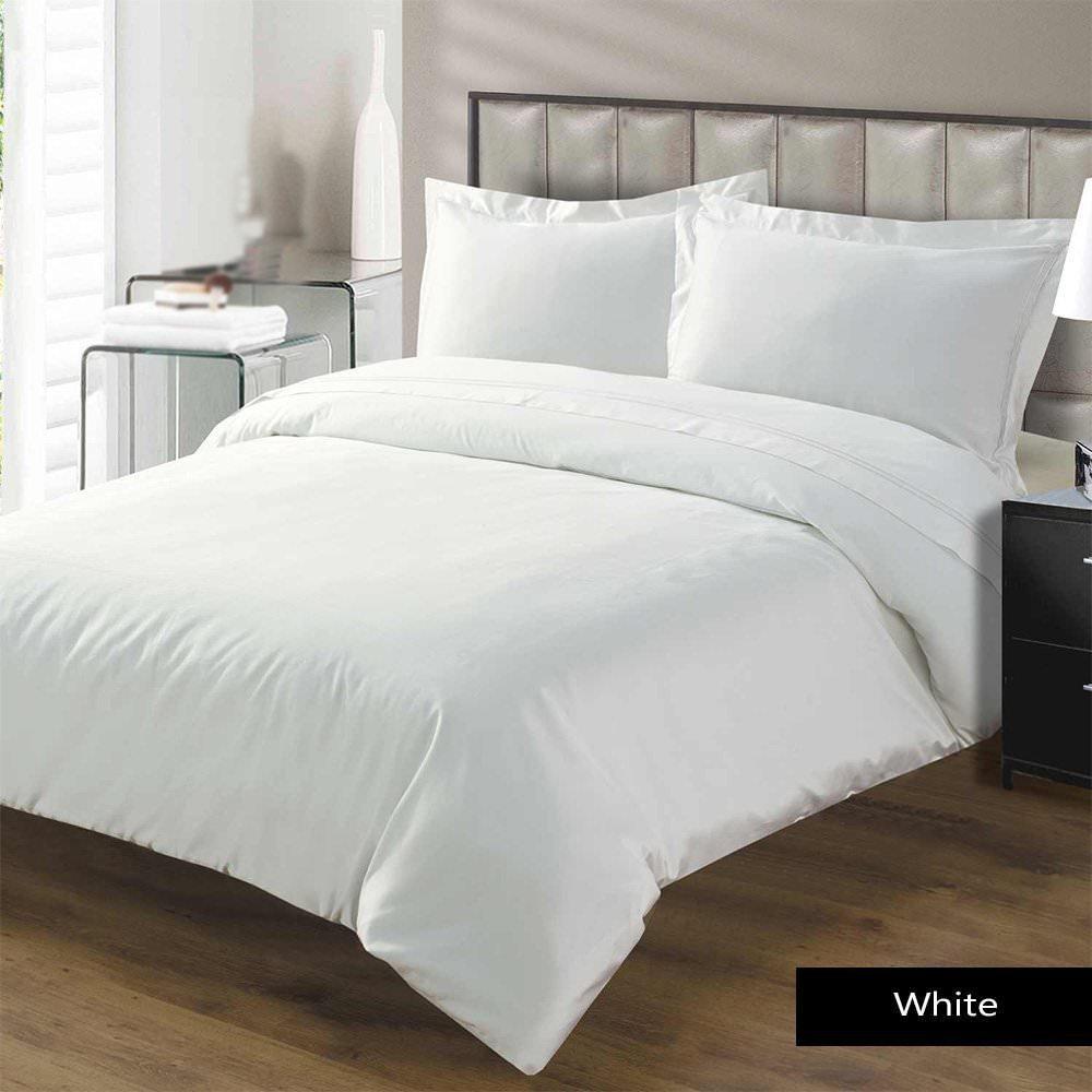 ホワイトHouseスーパーソフトホテル品質620スレッド数100 %エジプトコットン4ピースベッドシートセットwith 20インチ深いポケット(ホワイトソリッド、RVサイズ) RV King 72 ''x 80'' ホワイト B0785HG3NWソリッドホワイト RV King 72 ''x 80''