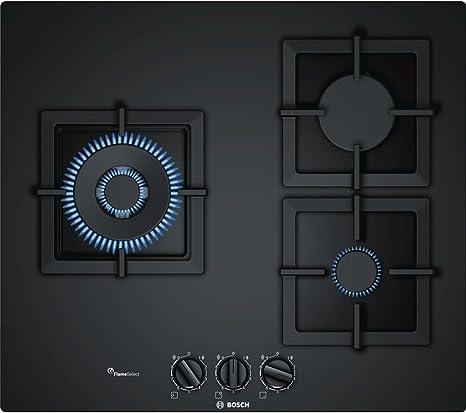 Bosch PPC6A6B20 hobs Negro Integrado Encimera de gas - Placa ...