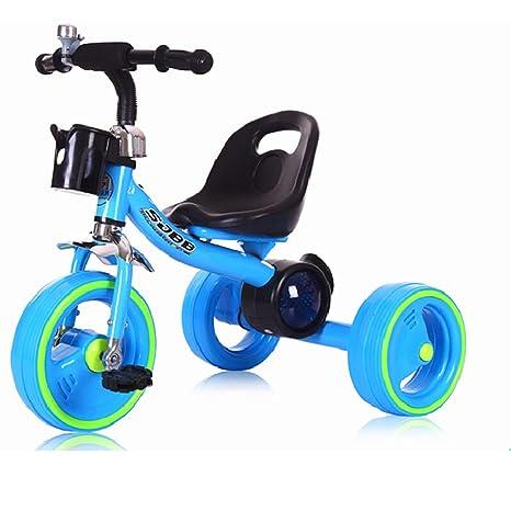 Amazon.com: Zhijie - Bicicleta infantil de triciclo para ...