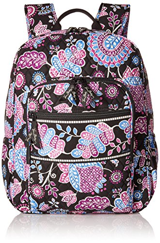 Vera Bradley Campus Backpack, Alpine Floral, One Size by Vera Bradley