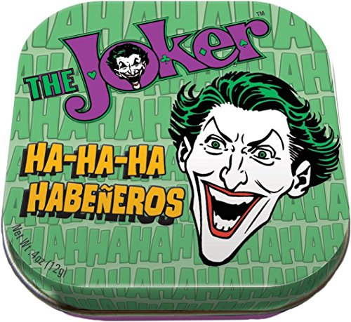 Stocking Tin - The Unemployed Philosophers Guild Joker Mints - 1 Tin of Mints - DC Comics Licensed