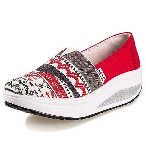 Solshine - Zapatillas de Lona para Mujer: Amazon.es: Zapatos y complementos