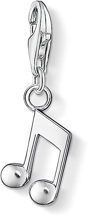 Thomas Sabo Femmes-Charm-Pendentif Note Charm Club Argent Sterling 925 0846-001-12