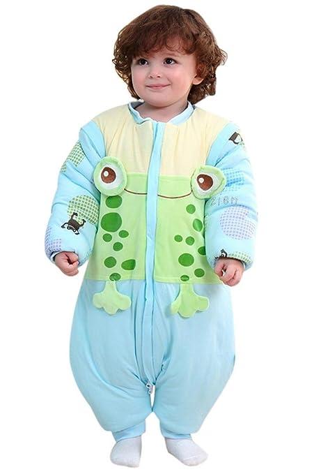 Happy Cherry 2 en 1 pijama Grenouillères traje recién nacido bebé saco de dormir Saco Estampado