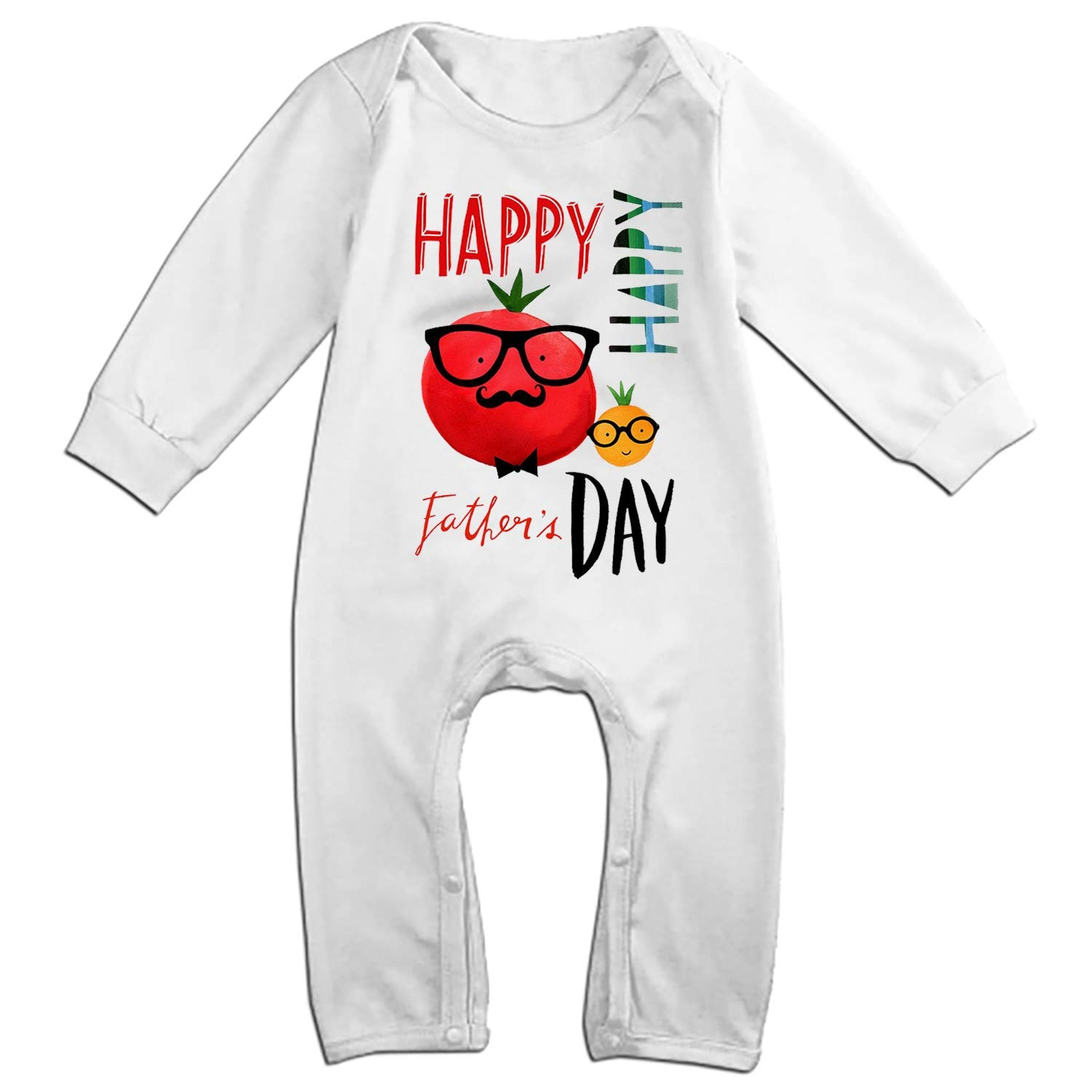 WANL Baby Independence Day Bodysuits Long Sleeve Rompers Casual Clothes