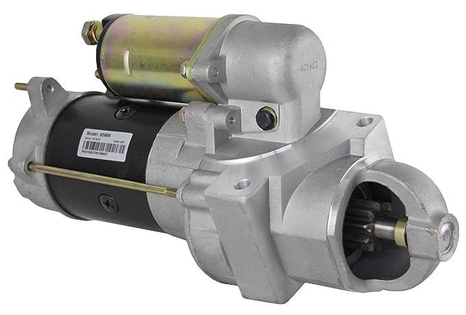 amazon com: new starter fits 24 volt cucv military equipment 6 2l gm diesel  engine m1008 m1009 : automotive